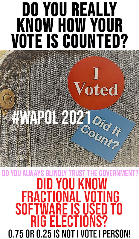 Do you really know how your vote is counted?