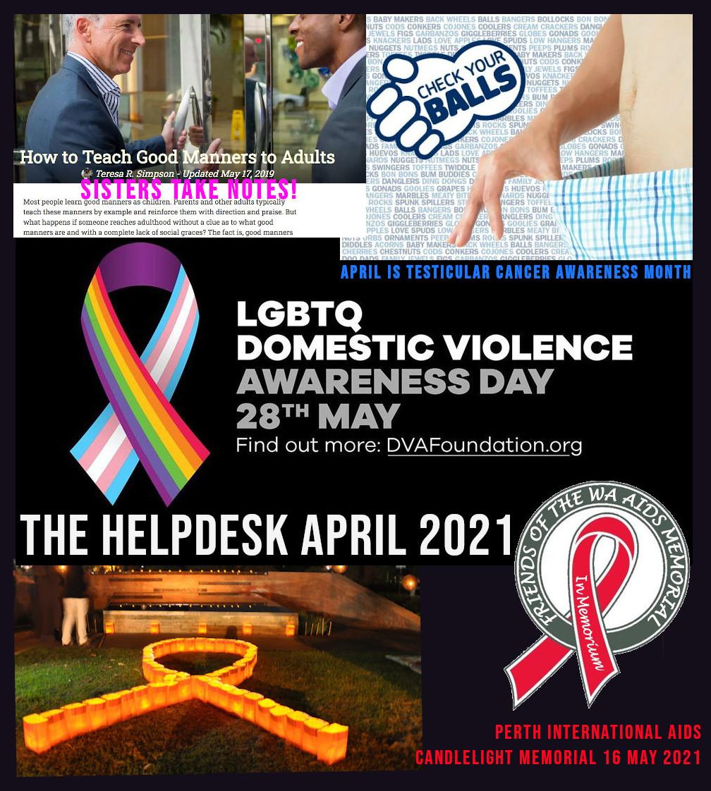 The Help Desk April 2021