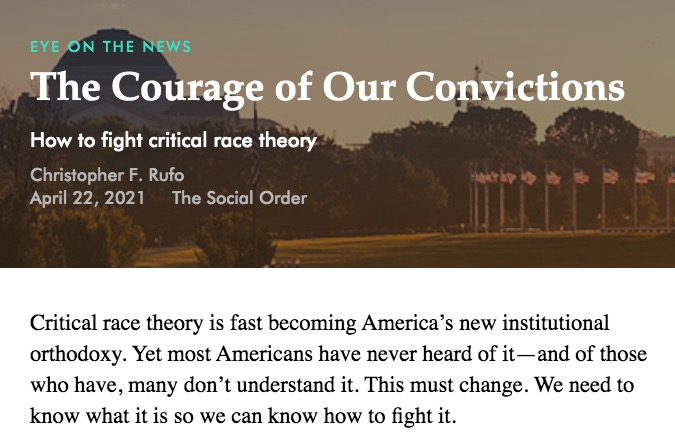 Fight Critical Race Theory
